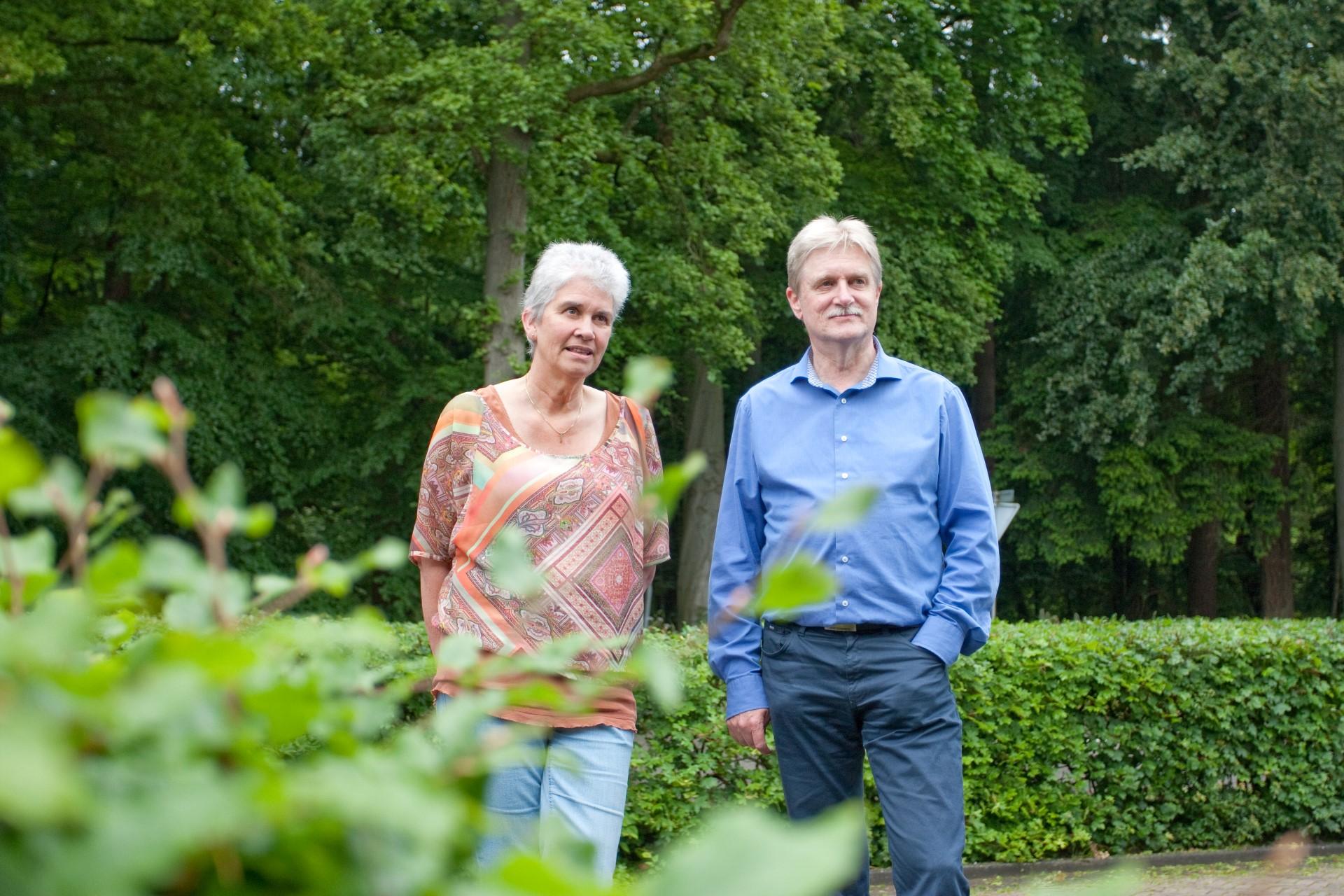 Wij wonen ideaal met het Asser Bos als onze voortuin (Lenny en Jan)